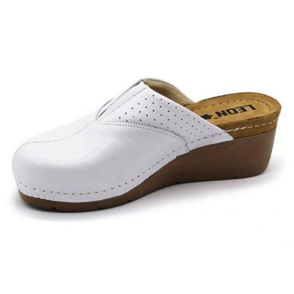 Leon Comfort női papucs-1002 Fehér