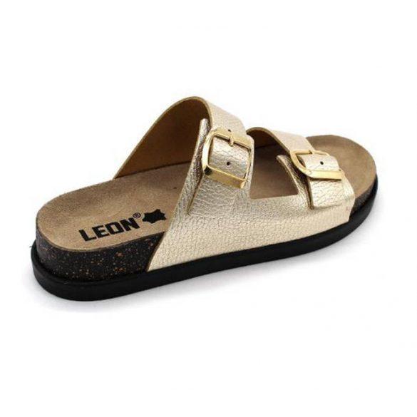 Leon Comfort női papucs-1220 Arany
