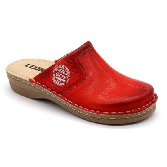 Leon Comfort női papucs-360 Piros