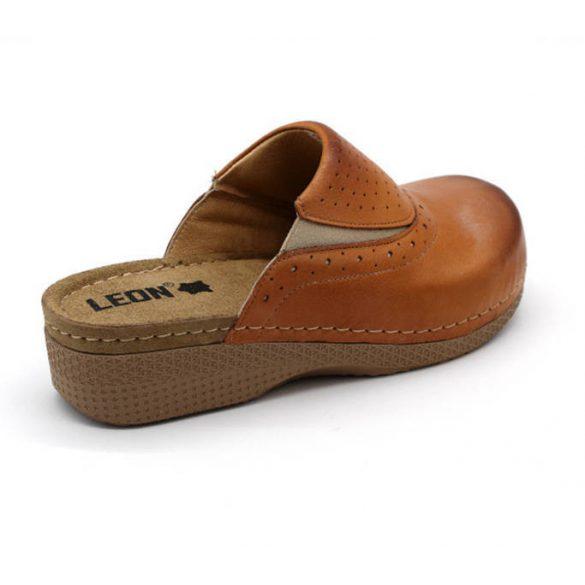 Leon Comfort női papucs-400 Barna