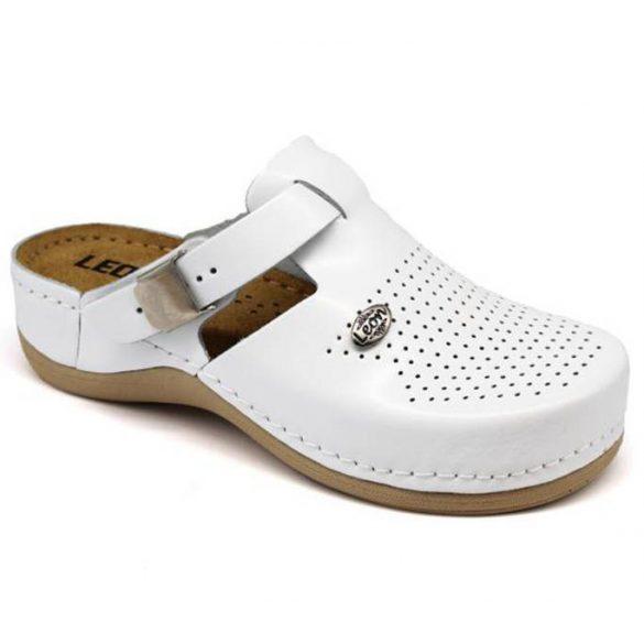 Leon Comfort női papucs-900 Fehér