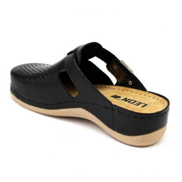 Leon Comfort női papucs-900 Fekete