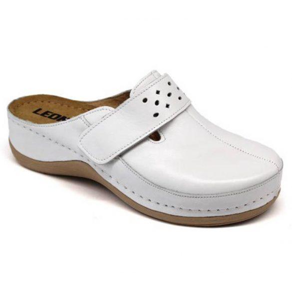 Leon Comfort női papucs-902 Fehér