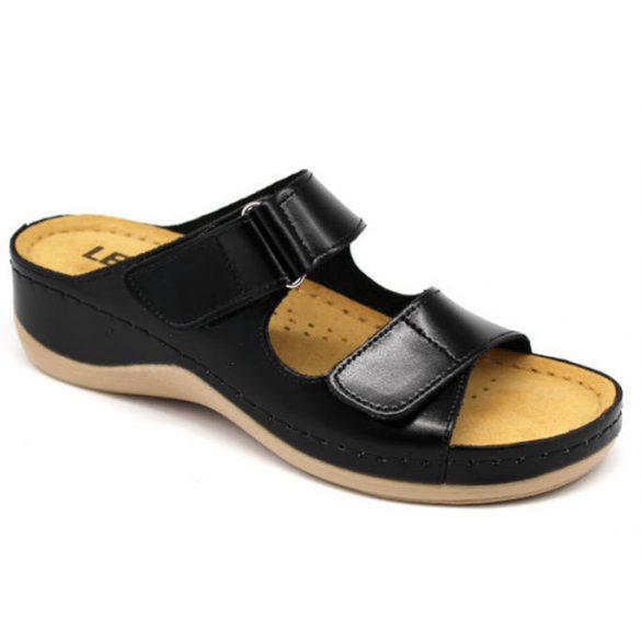 Leon Comfort női papucs-905 Fekete