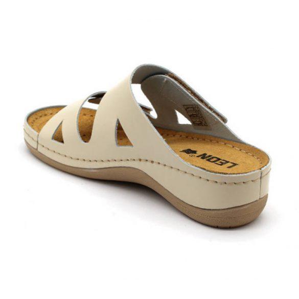 Leon Comfort női papucs-906 Bézs
