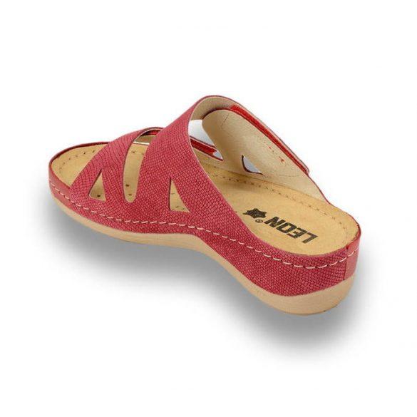 Leon Comfort női papucs-907 Piros