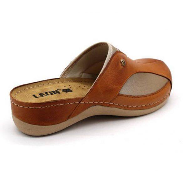 Leon Comfort női papucs-912 Barna
