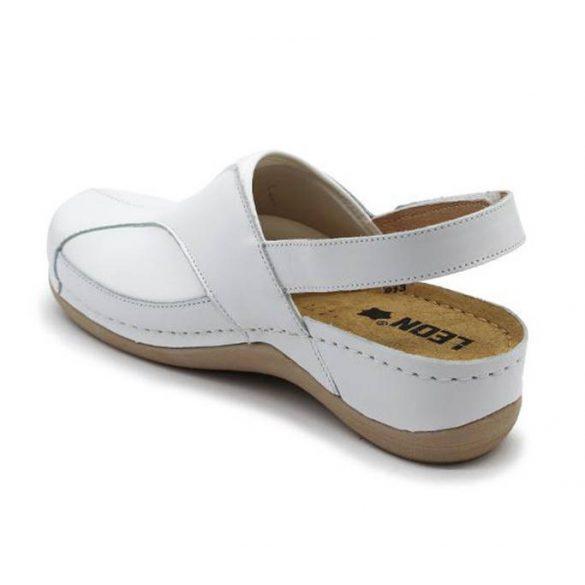 Leon Comfort női szandál-913 Fehér