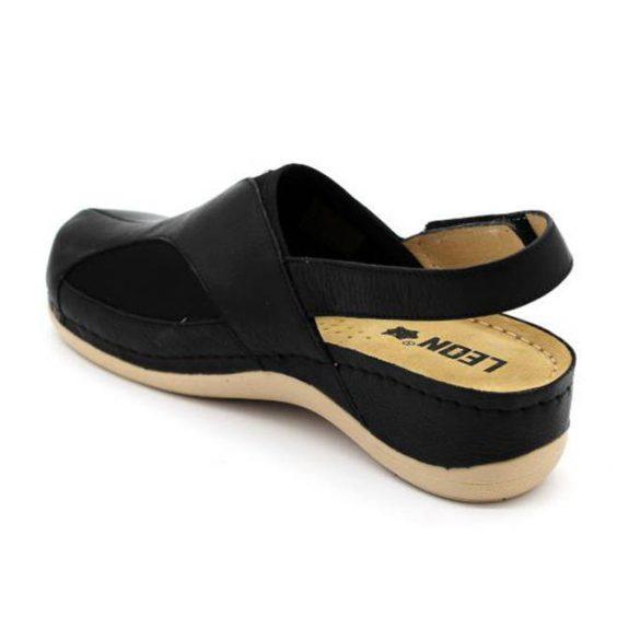 Leon Comfort női szandál-913 Fekete