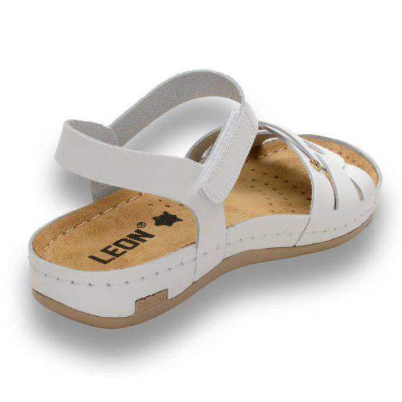 Leon Comfort női szandál-961 Fehér