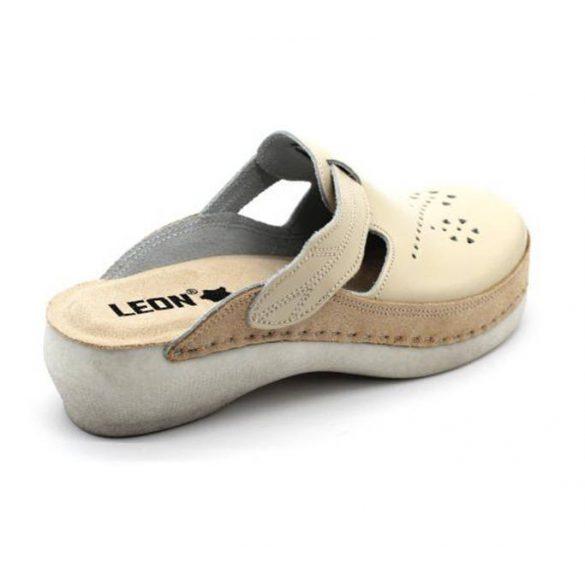 Leon Comfort női papucs-Pu 156 bézs